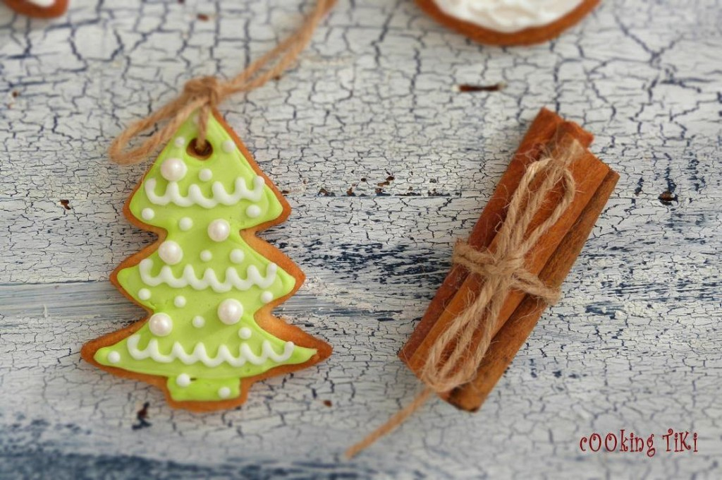 Коледни сладки за елха 21 1024x680 Biscuits de Noël pour le sapin