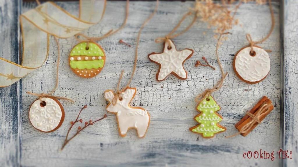 Коледни сладки за елха1 1024x575 Biscuits de Noël pour le sapin