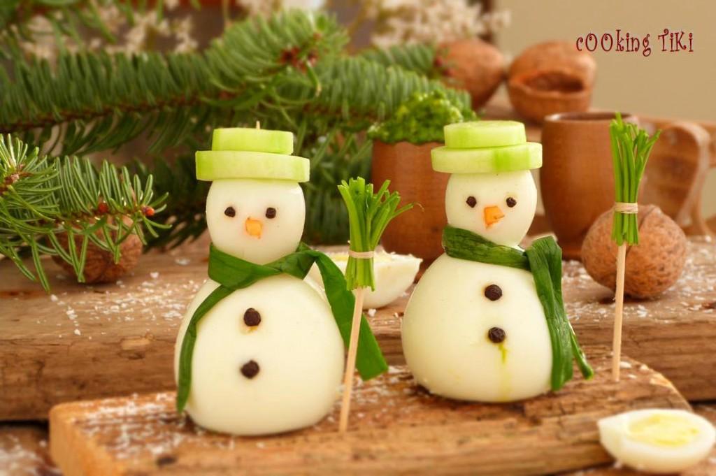 Коледно предястие с яйчно песто 1 1024x681 Коледно предястие с яйчно песто