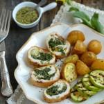 Пилешко руло със зеленушки и моцарела 2 150x150 Easter
