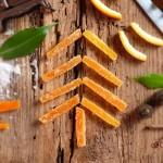 Портокалови корички за сладкиши 150x150 Коледа и Нова Година