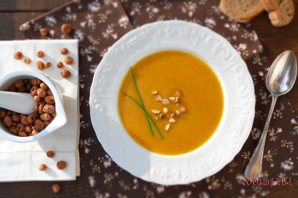 Крем супа с резене и чуфа2 1024x682 Cream of fennel and chufa nuts