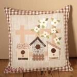 Деко възглавница къщички за птици1 150x150 Patchwork cushions