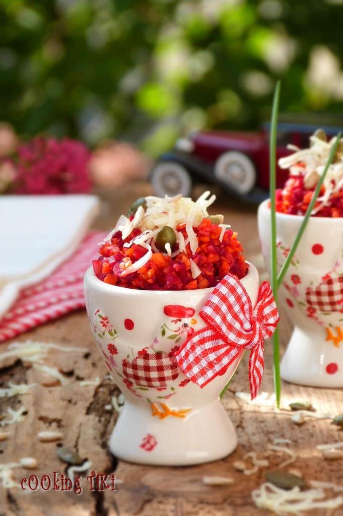Пъстра салата с цвекло и ядки 682x1024 Пъстра салата с цвекло и ядки