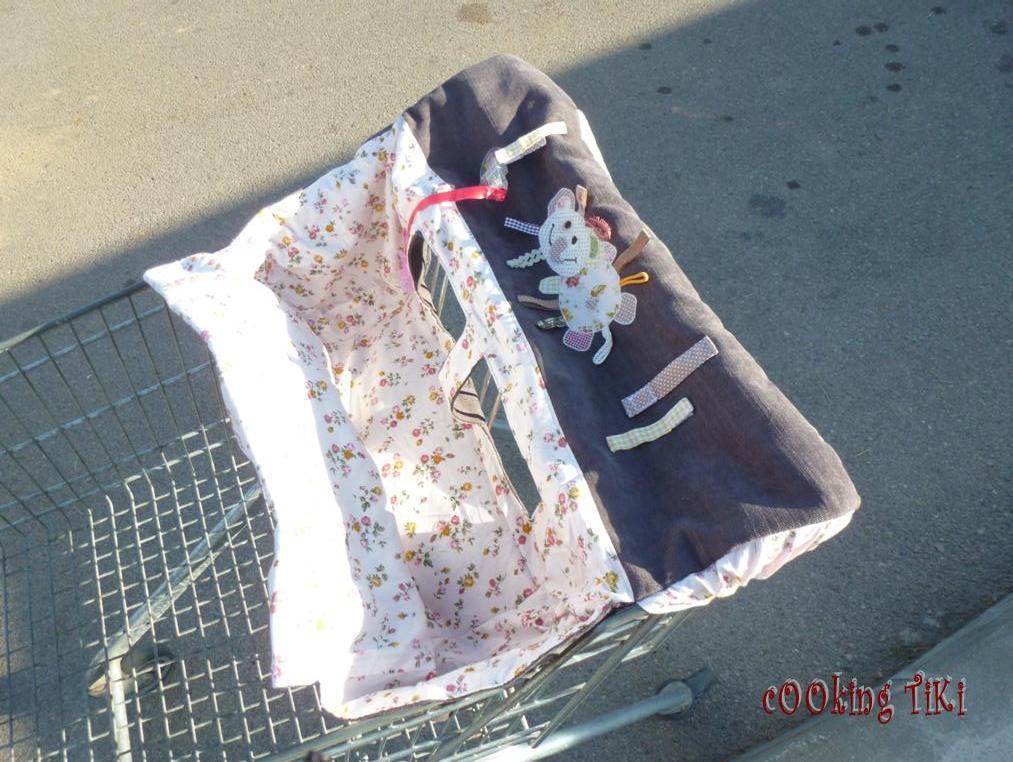 Калъф за пазарска количка 4 Shopping cart cover