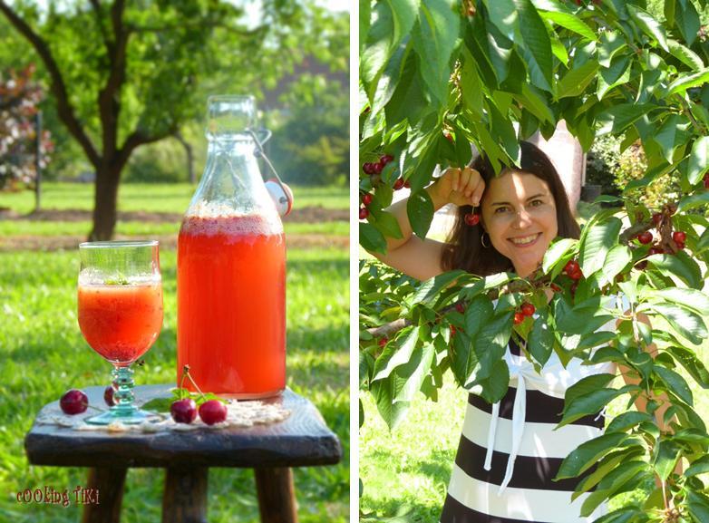 Черешада 21 Cherriade or cherry lemonade