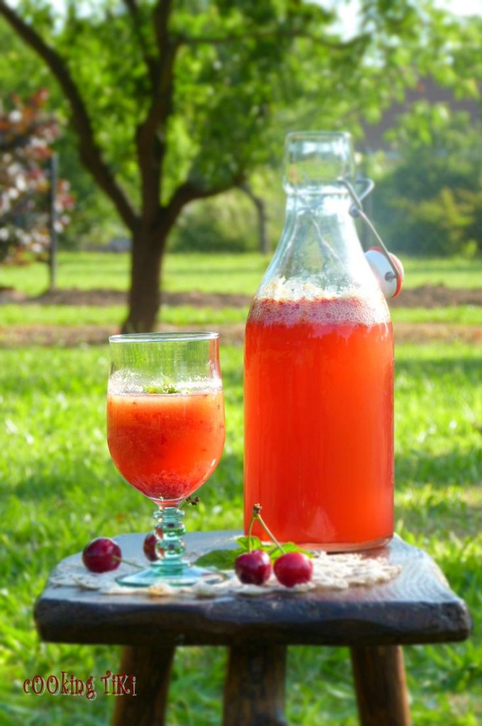 Черешада1 680x1024 Cherriade or cherry lemonade
