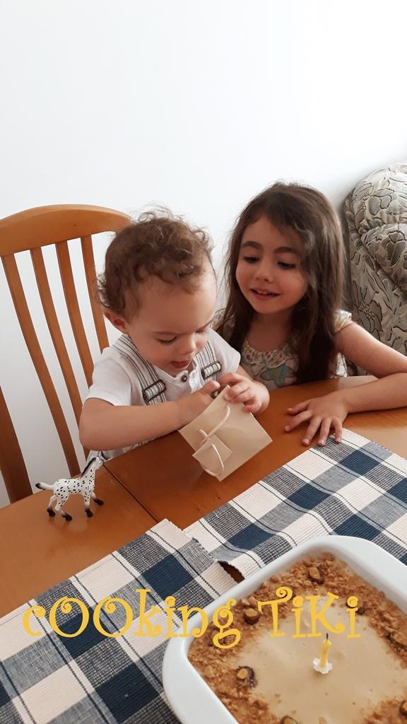 Бисквитена торта по детски1 Бисквитена крем торта по детски