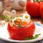 Домати с яйце на фурна3 150x150 Meatless dishes