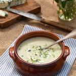 Крем супа от целина и синьо сирене2 150x150 Soups