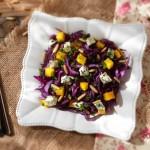 Салата от червено зеле синьо сирене и кедрови ядки1 150x150 Salads