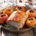Свинско роти с пълнени ябълки 21 150x150 Meat and sausages