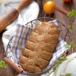 Квасени хлебчета с босилек и порто2 150x150 Bread and crackers