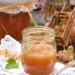 Конфитюр от бяло френско грозде и банани2 150x150 Drinks and jams