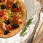 Пица с моцарела зелени бобчета и прошуто 22 150x150 Pizza, polenta and pasta