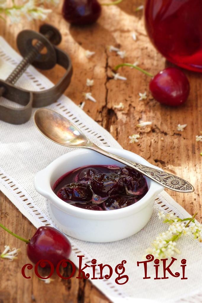 Сладко от череши1 Cherry jam