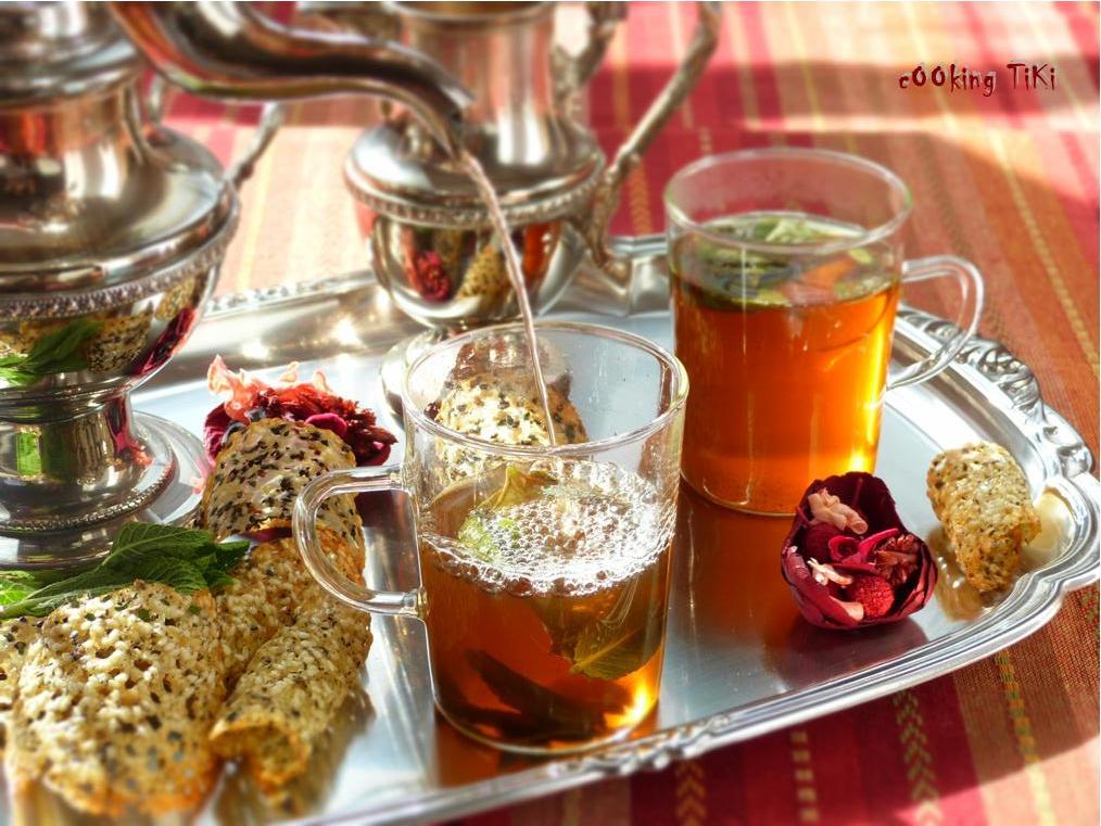 Ментов чай по марокански2 Moroccan mint tea