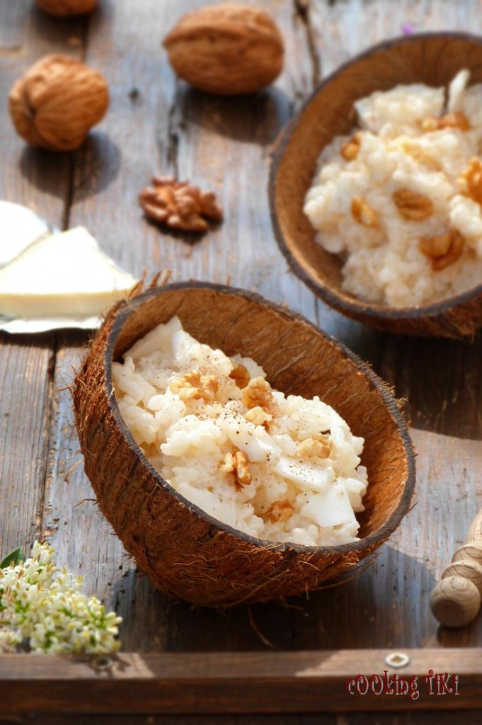 Ризото с кокос и топено сирене 22 681x1024 Coconut and melted cheese risotto