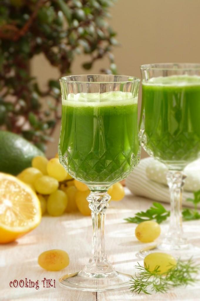 Зелено смути с киселец 22 681x1024 Green smoothie with sorrel