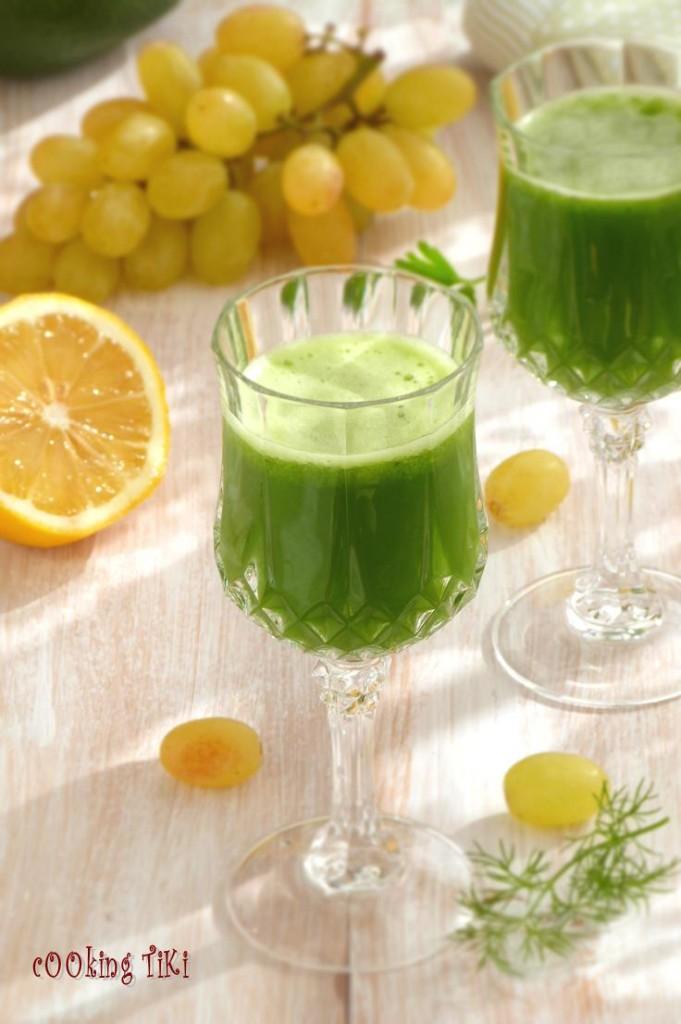 Зелено смути с киселец2 681x1024 Green smoothie with sorrel