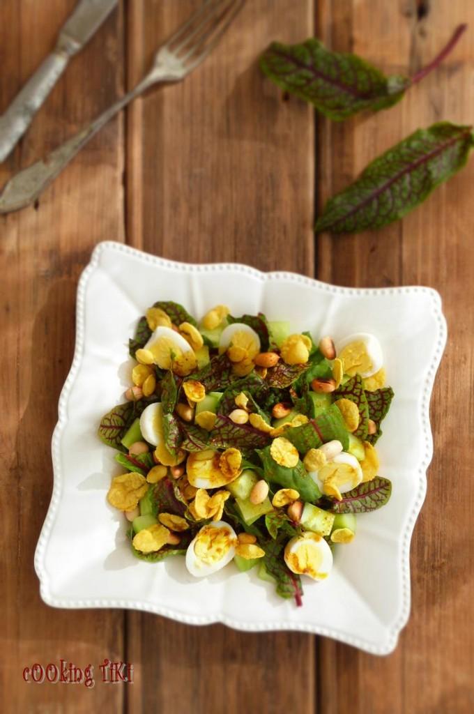 Индийска салата с фъстъци2 680x1024 Indian salad with peanuts