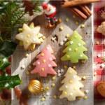 Коледни сладки с бадемов марципан1 150x150 Cookies and toffees