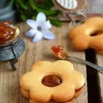Лешникови бисквити с кайсиево сладко 150x150 Party bites