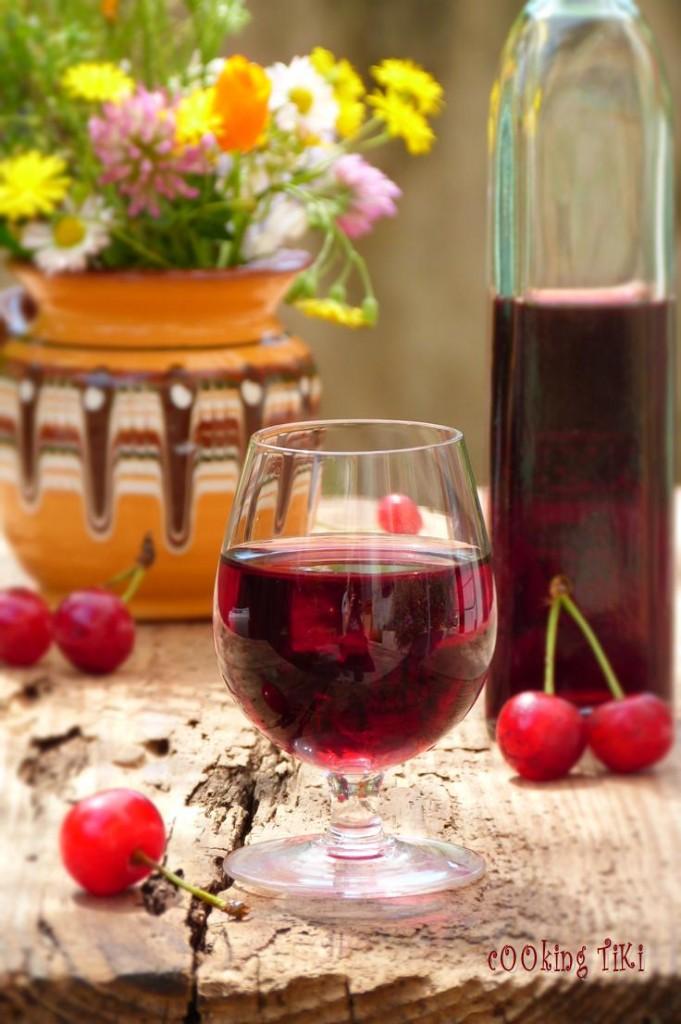Вишновка 21 681x1024 Sour cherry liqueur