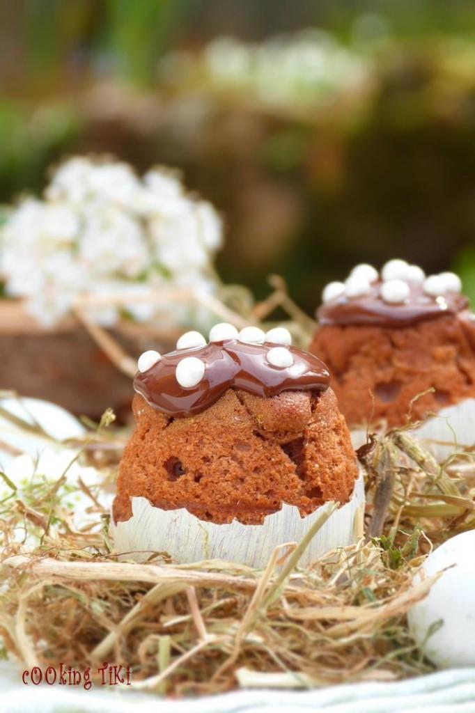 Великденски кексчета в яйца2 682x1024 Easter cupcakes in eggshells