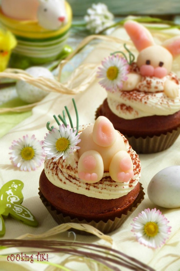 Великденски шоколадово бадемови мъфини 22 681x1024 Easter muffins with chocolate and almonds
