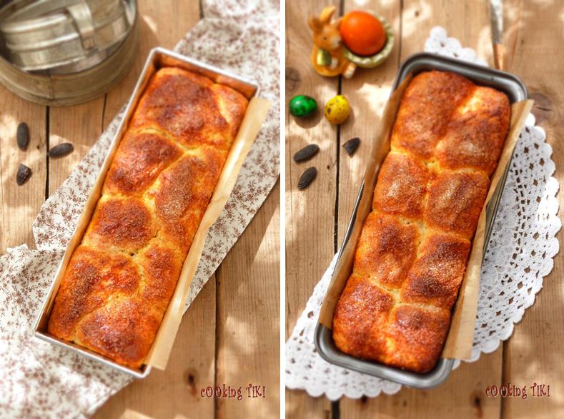 Козунак с мармалад от шипки 31 Easter brioche with rosehip marmalade