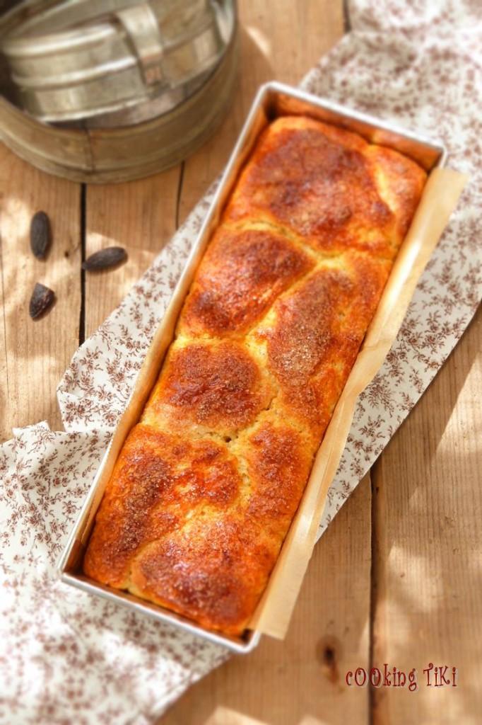 Козунак с мармалад от шипки1 682x1024 Easter brioche with rosehip marmalade