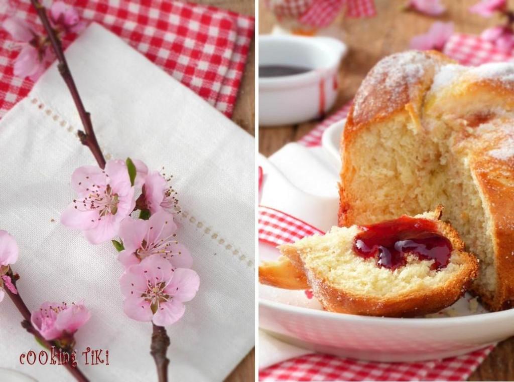 Мини козунаци с желе от френско грозде 42 1024x762 Easter buns with currant jelly