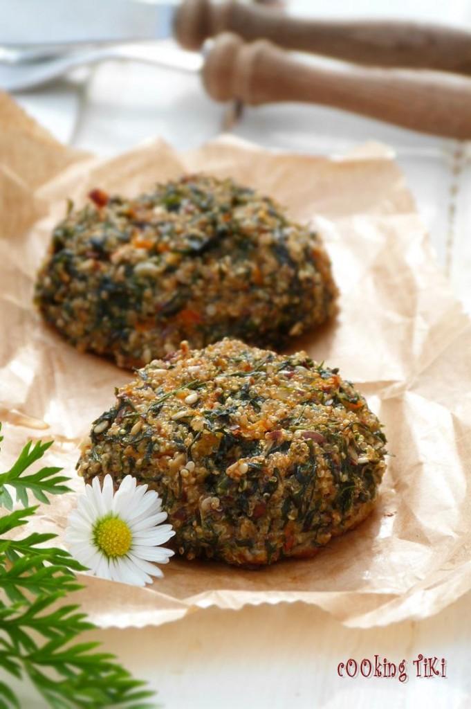 Кюфтета с амарант и листа от моркови 21 681x1024 Quinoa balls with carrot greens