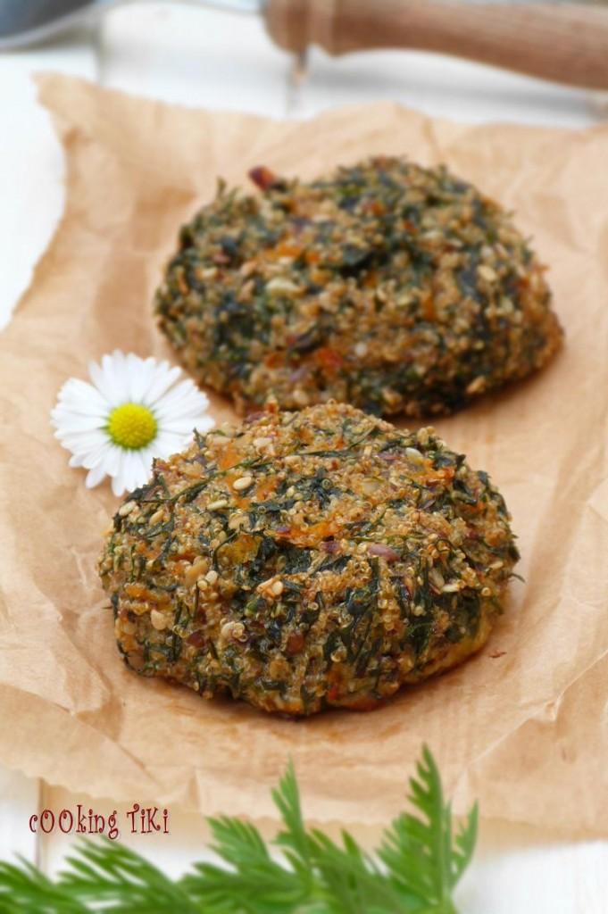 Кюфтета с амарант и листа от моркови 31 681x1024 Quinoa balls with carrot greens