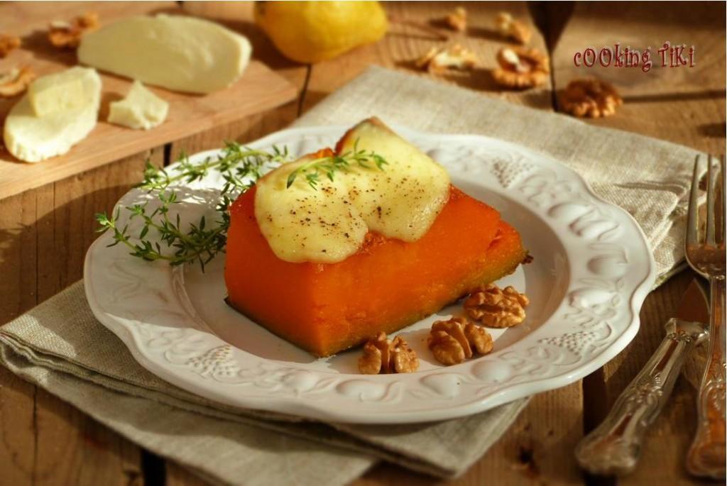 Тиква с моцарела1 1024x685 Oven baked pumpkin with mozzarella