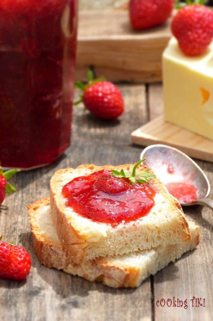 Конфитюр от ягоди1 681x1024 Strawberry jam