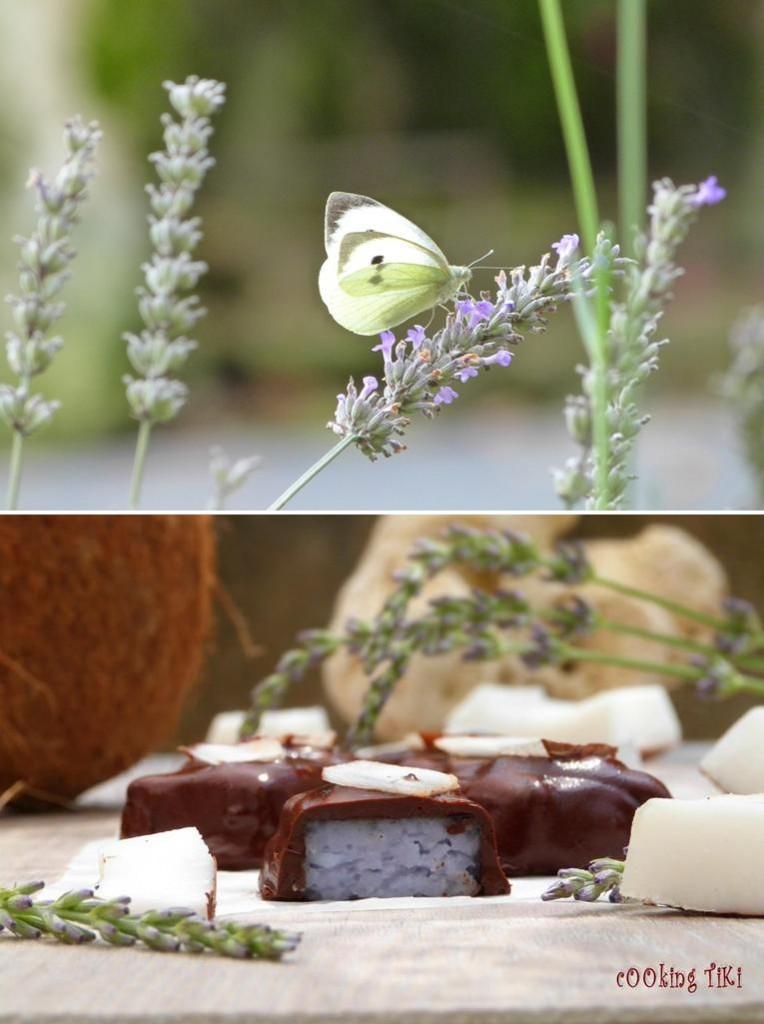 Лавандулови бонбони1 764x1024 Lavender chocolates