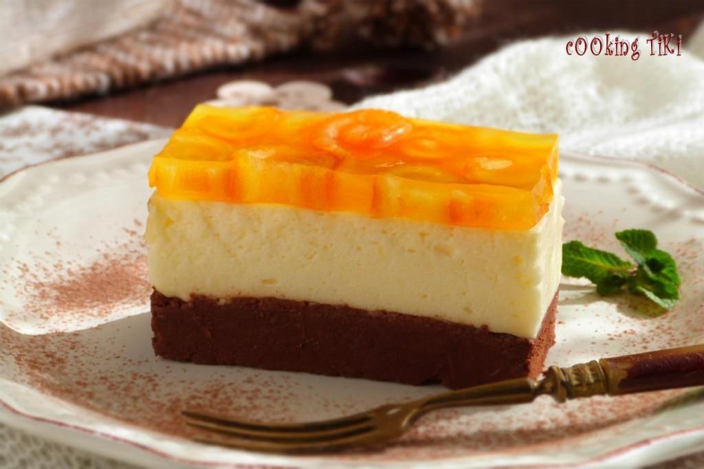 Шоколадово портокалова паста 21 1024x682 Chocolate and orange parfait