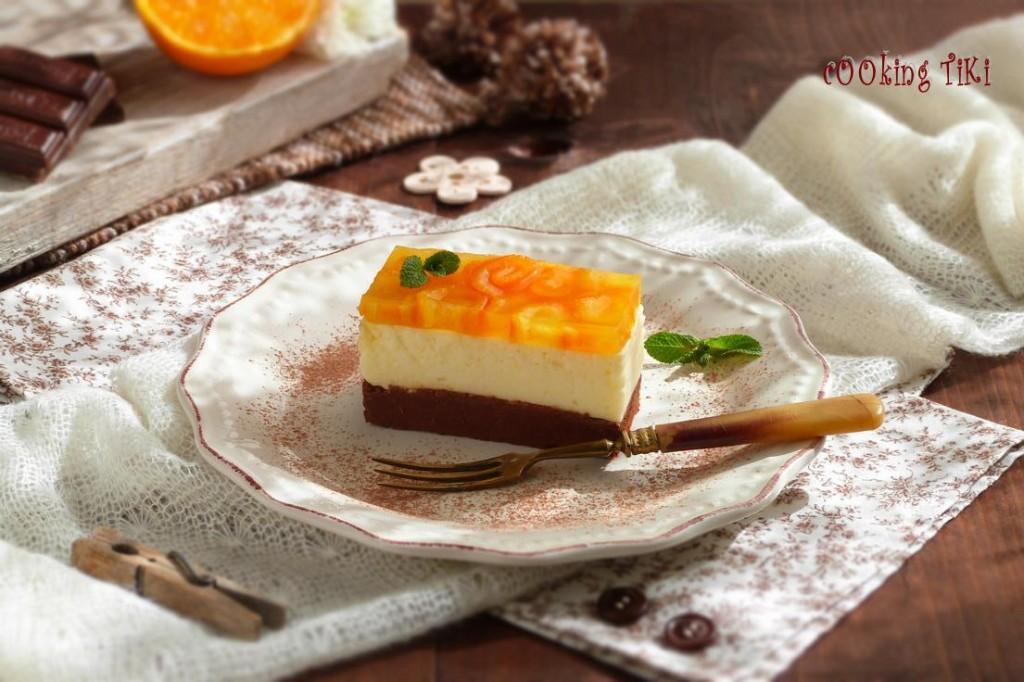 Шоколадово портокалова паста1 1024x682 Chocolate and orange parfait