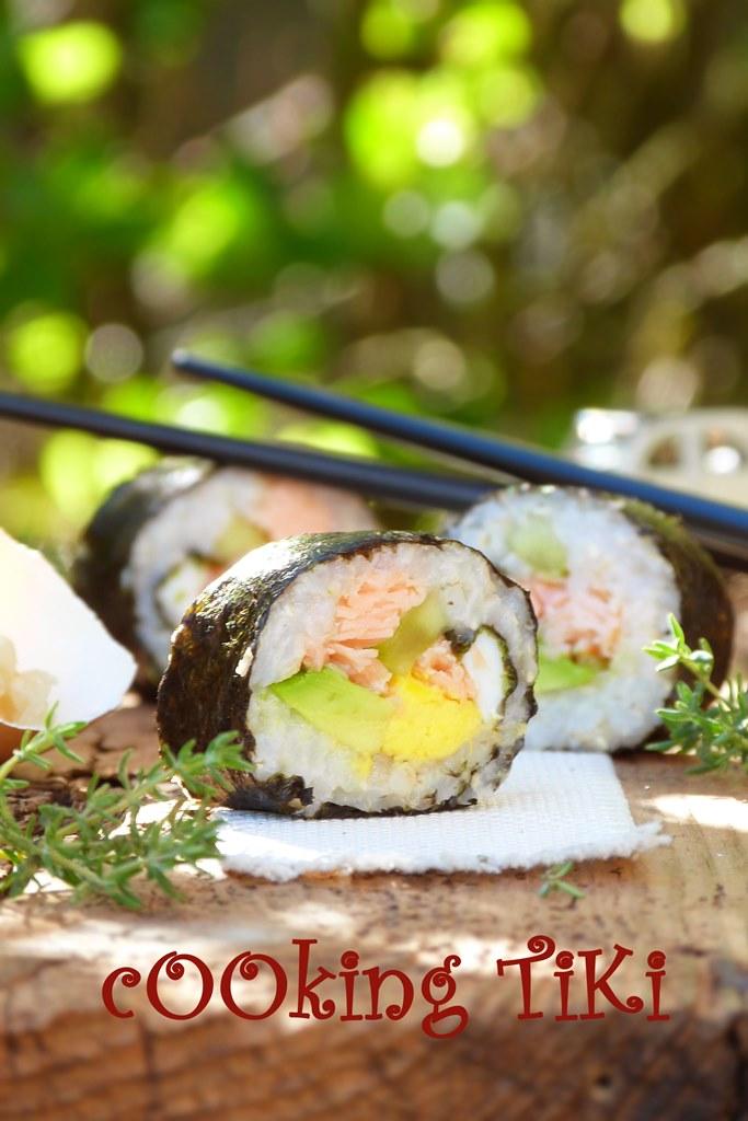 Детско маки суши 22 Maki sushi for kids