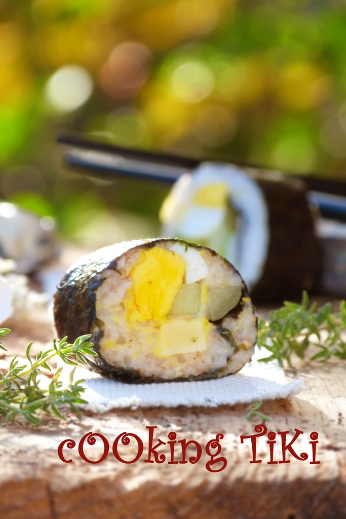 Детско маки суши2 Maki sushi for kids