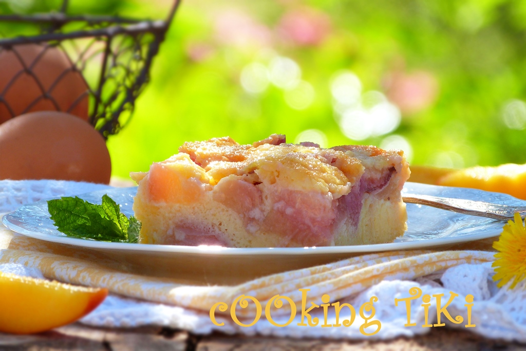 Клафути с нектарини 22 Nectarine clafouti